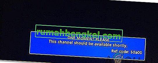 Как да поправим & lsquo; Един момент, моля с REF код S0A00 & rsquo; Грешка в Comcast?