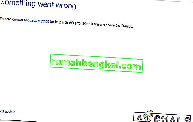 Windows 10 Updateエラー0xc1900200を修正する方法?