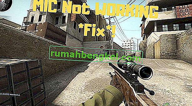 Jak naprawić CS: GO Mic nie działa
