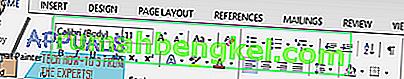 כיצד למחוק דף ב- Word 2013