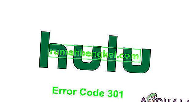 כיצד לתקן שגיאת Hulu 301