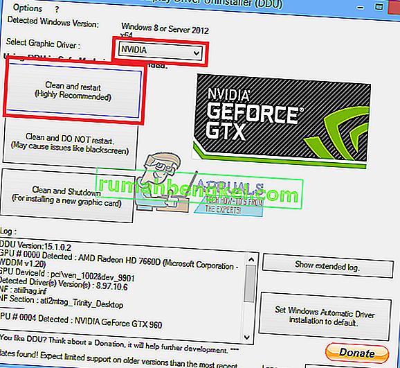 NVIDIAドライバーをロールバックする方法