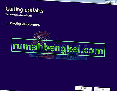 Solución: la configuración de Windows 10 se atascó al buscar actualizaciones