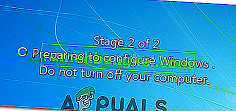 構成の準備で立ち往生しているWindows 7または10を解決する