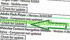 'コンポーネントが更新されない'の修正方法 Chromeのエラー