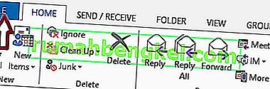Cómo configurar respuestas fuera de la oficina en Outlook 2013/2016 y 2010
