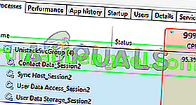 Cómo arreglar Unistack Service Group (unistacksvcgroup) Alto uso de CPU o memoria