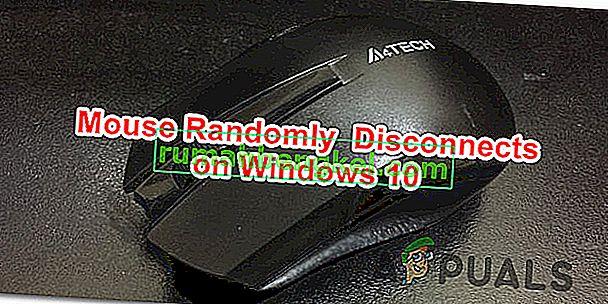 Cómo arreglar & lsquo; Ratón desconectado y reconectado aleatoriamente & rsquo; en Windows 10