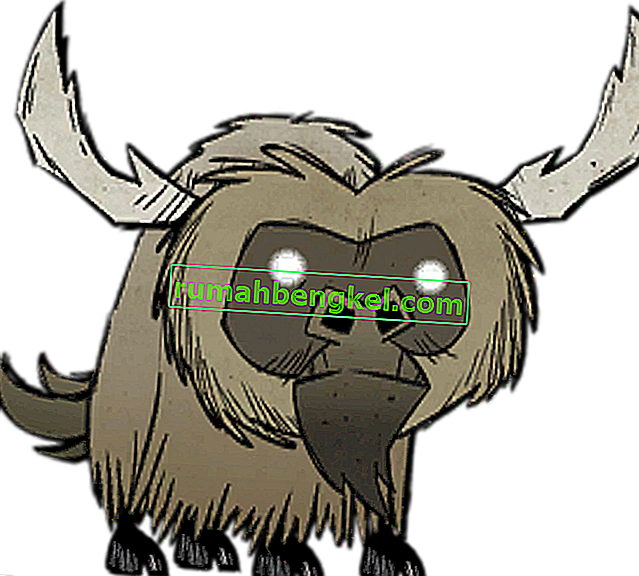 Don & rsquo; t Starve Beefalo Doma Guía