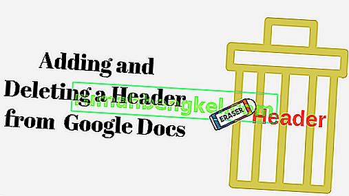 Jak dodać i usunąć nagłówek w Dokumentach Google