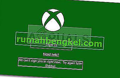 Как да коригирам грешка 0xbba в приложението Xbox