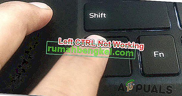 左CTRLキーがWindowsで機能しないのを修正する方法