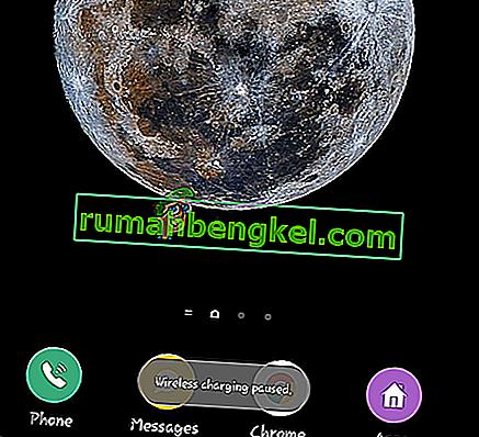 Solución: & lsquo; Carga inalámbrica en pausa & rsquo; en Teléfonos Galaxy Note