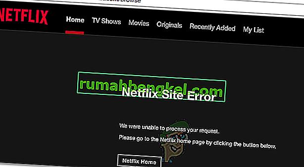 Як виправити помилку сайту Netflix