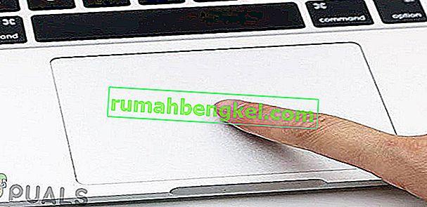 노트북의 터치 패드가 작동하지 않는 문제를 해결하는 방법