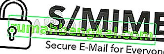 Como corrigir & lsquo; O conteúdo não pode ser exibido porque o controle S / MIME não está disponível & rsquo; Erro?