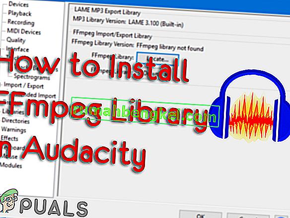 Инсталиране на библиотека FFmpeg в Audacity