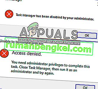 タスクマネージャを標準ユーザーの管理者として実行する方法