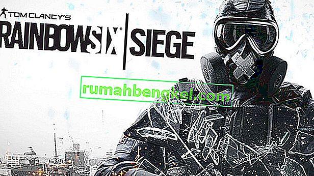 Поправка: Rainbow Six Siege не стартира