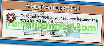 Jak naprawić błąd programu Photoshop & lsquo; dyski magazynujące są pełne & rsquo;