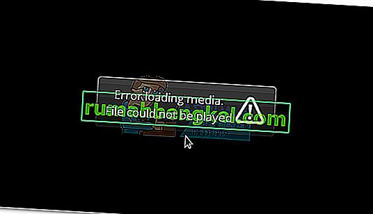 Поправка: & ldquo; Грешка при зареждането на медийния файл Не можа да се възпроизведе & rdquo; в Chrome