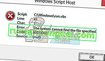 Как да коригирате грешки на хост на скриптове на Windows при стартиране