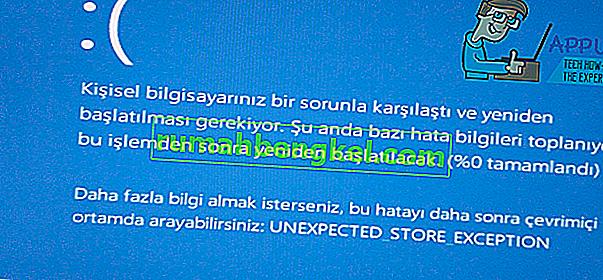РЕШЕНО: Неочаквано изключение на магазина в Windows 10