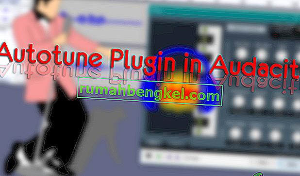 Audacity에서 Autotune 플러그인을 설치하는 방법은 무엇입니까?