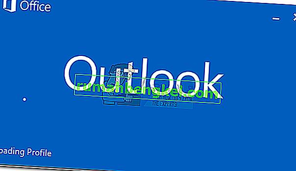 修正:Outlookがプロファイルの読み込みでスタックする' 2010、2013、2016'