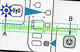 Cómo conectar MG3620 de forma inalámbrica mediante el panel de control de impresoras