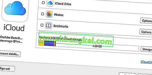 Cómo descargar todas las fotos a la vez desde iCloud a la PC