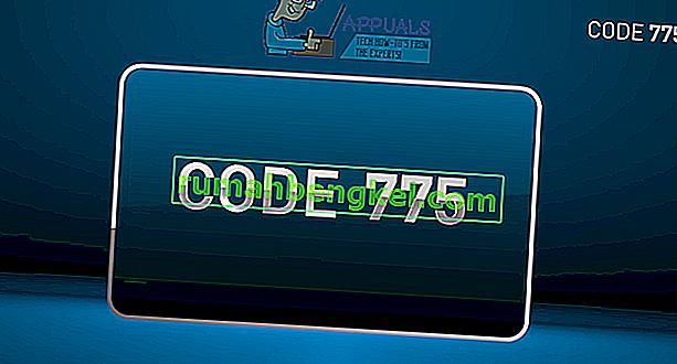 إصلاح: رمز خطأ DIRECTV 775