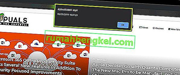 Как да проверите кога уебсайтът е последно променен с помощта на предупреждение (document.lastmodified)