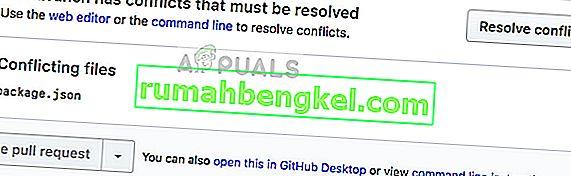 كيفية إصلاح خطأ Git: تحتاج إلى حل الفهرس الحالي أولاً