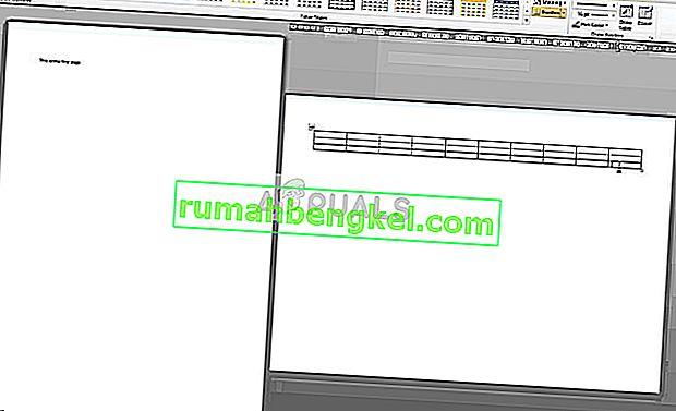 Cómo hacer un paisaje de una página en Microsoft Word
