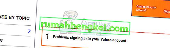 Как да вляза в моя акаунт в Yahoo, ако съм забравил телефонния си номер и парола?