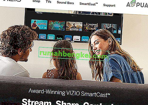 Поправка: Vizio SmartCast не работи