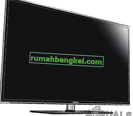 Cómo solucionar el problema de la pantalla negra en Smart TV (Samsung)