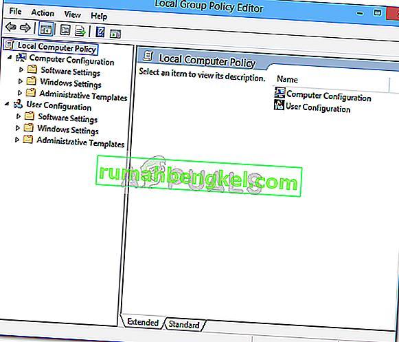 Как да отворите редактора на локални групови правила в Windows 10