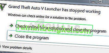 Як виправити помилку припинення роботи Grand Theft Auto V Launcher