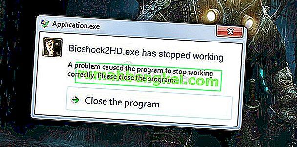 Jak naprawić problem awarii BioShock Remastered w systemie Windows?
