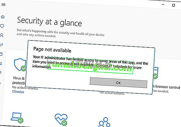 Поправка: Вашият ИТ администратор има ограничен достъп