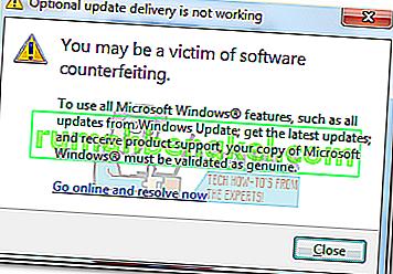 Поправка: Може да сте жертва на фалшифициране на софтуер