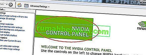 Solución: el panel de control de Nvidia no se abre