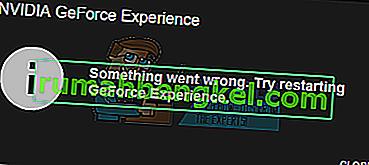 תיקון: חוויית Geforce לא נפתחת