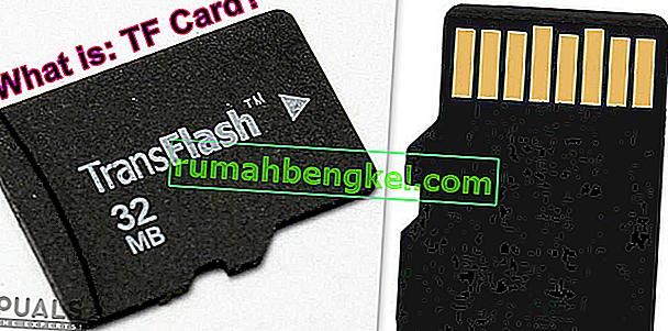 TF (TransFlash) 카드 란 무엇이며 Micro SD와 어떻게 다릅니 까?