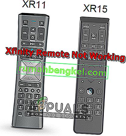修正:Xfinity Remoteが機能しない