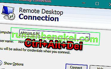 リモートデスクトップからCtrl + Alt + Delを送信する方法