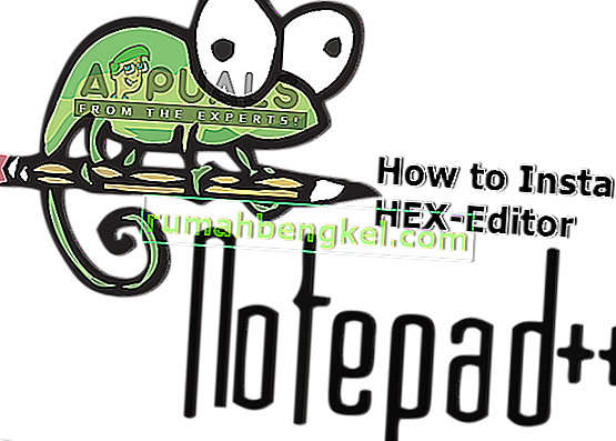 كيفية تثبيت البرنامج المساعد Notepad ++ Hex Editor