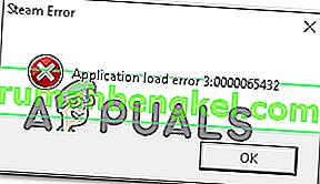Solución: error de carga de la aplicación 3: 0000065432
